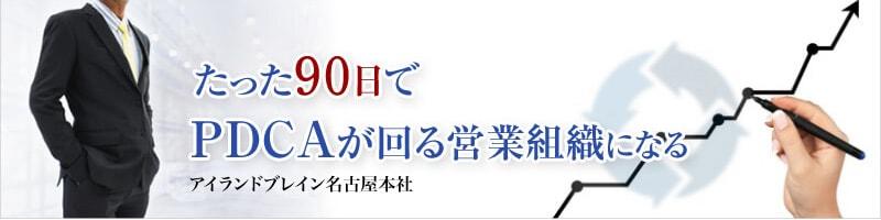アイランドブレイン名古屋本社 たった90日時でPDCAが回る営業組織になる